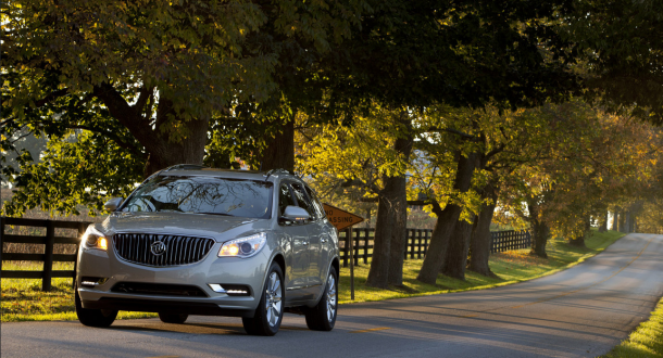 2014 buick enclave front view 2