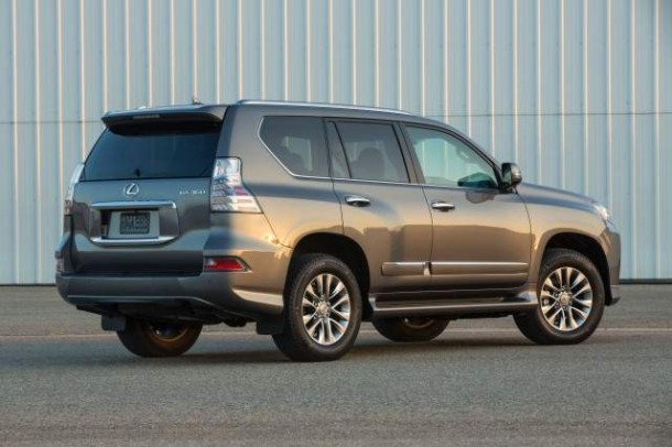 2014 lexus gx 460 rear view