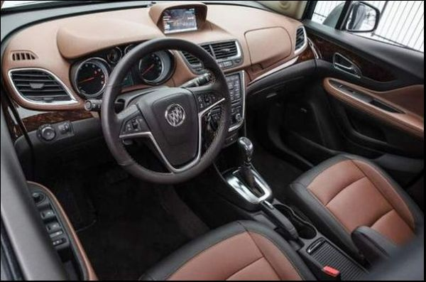 2017 Buick Encore interior 3