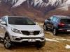 2015 Kia Sportage top view
