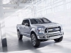 2016 Ford Atlas front view 3
