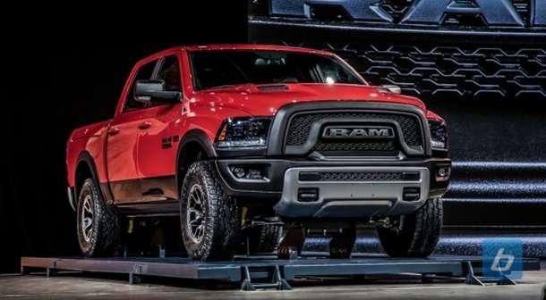 2016 Dodge Ram Rebel front view