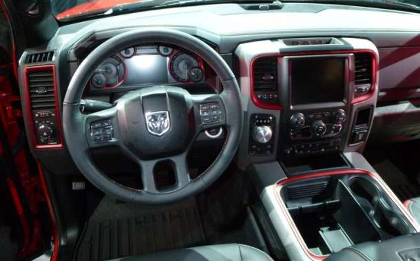 2016 Dodge Ram Rebel interior 2