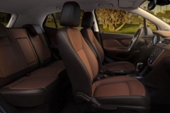2017 Buick Encore seats
