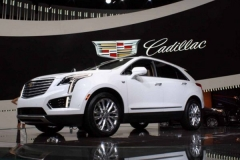 2017 Cadillac XT5 white