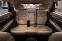 2017 Cadillac XT5 seats