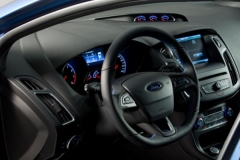 2017 Ford Fiesta RS interior 1