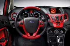 2017 Ford Fiesta RS interior 2