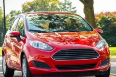 2017 Ford Fiesta RS red