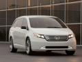 2017 Honda Odyssey white