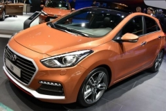 2017 Hyundai i30 orange