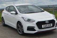 2017 Hyundai i30 white
