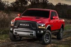 2017 Ram 1500 SRT Hellcat red