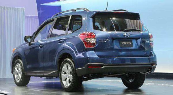 2017 Subaru Forester rear