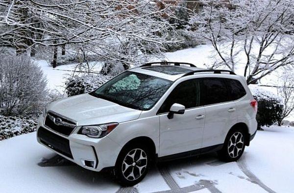 2017 Subaru Forester white