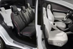 2017 Tesla Model X interior 2
