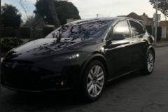 2017 Tesla Model X black