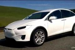 2017 Tesla Model X white