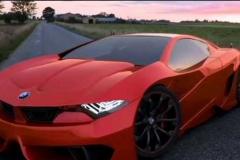 BMW M9 front