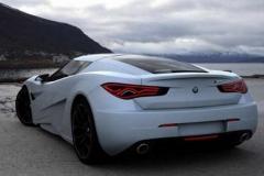 BMW M9 rear